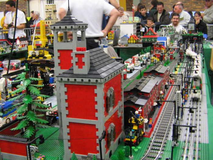 plan d'une maison en lego