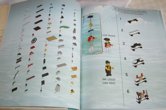 Livre brickmaster lego pirates freelug - Ile pirate lego ...