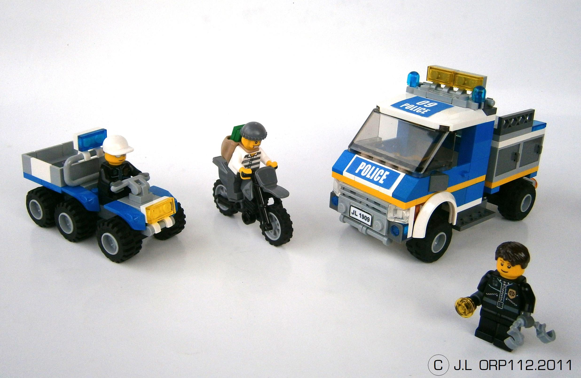 V hicules city s rie 1 freelug - Camion de police lego city ...